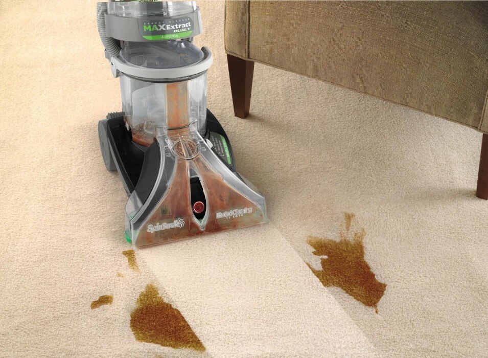 carpet cleaning with Max Extract Dual V