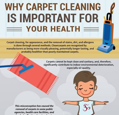 Infographic Why Carpet Cleaning Is Important For Your